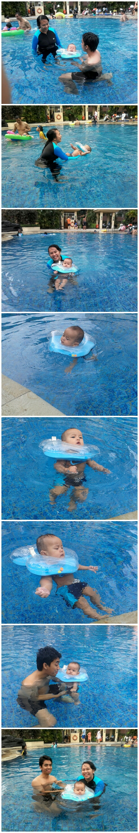 First Swimming