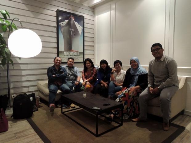 Prita Kemal Gani dengan Blogger 2