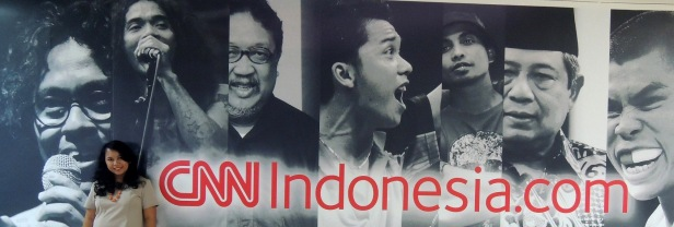 Brunch at Newsroom CNN Indonesia 2