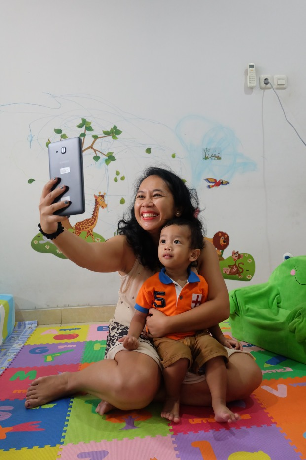 Selfie duluuu