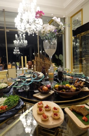 Dining at Art Deco Luxury Hotel Bandung 1