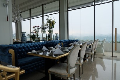 Dining at Art Deco Luxury Hotel Bandung 6