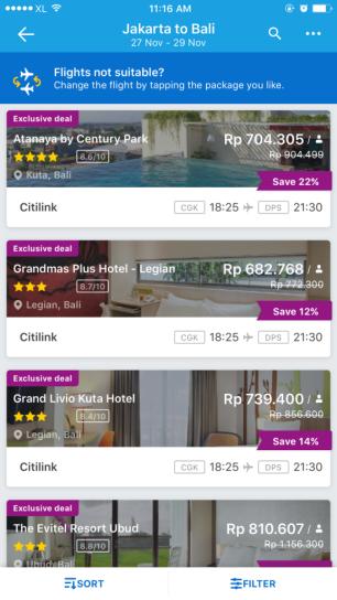 Fitur Pemesanan Hotel dan Penerbangan Traveloka 4