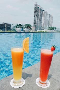 Pool at Mercure Jakarta Cikini Hotel