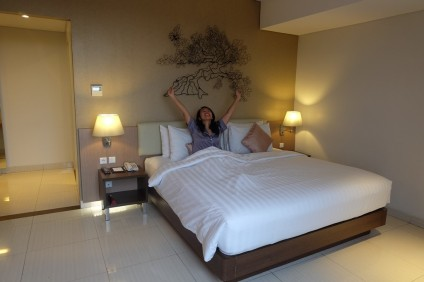 Suite Room at Hotel Santika Premiere Kota Harapan Indah Bekasi